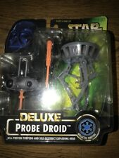 Star Wars DELUXE Galactic Empire PROBE DROID 1996 - NOS SEALED Vntg