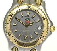 TAG HEUER S/el WG1120-K0 Date gray Dial Quartz Men's Watch_614241