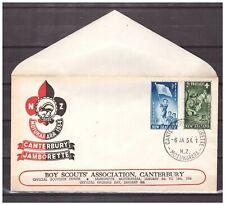 New Zealand 1954 FDC Boy Scouts Jamborette