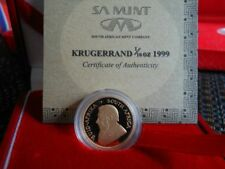 South Africa Gold Krugerrand Proof 1999 1/10 Ounce Rare