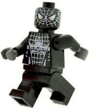 Custom Designed Minifigure Black Spiderman Printed on LEGO Parts