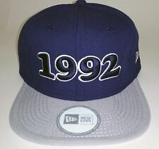 Hip Hop Snapback  Hat 1992 - Urban Street wear  Blue / Gray - Sneaktip