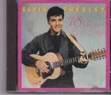 Elvis Presley-18 Greatest Love Songs cd album