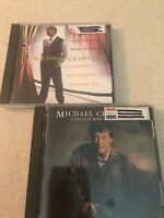 Michael Crawford Cds (Lot of 2) Songs from the Stage and Screen,A Touch of Music