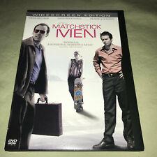Matchstick Men Dvd Widescreen Ridley Scott Nicolas Cage Sam Rockwell Movie