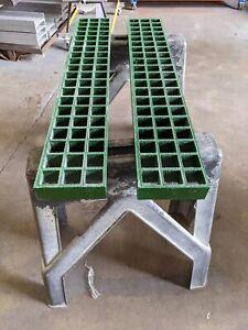 SLIM Off Road 4x4 Bridging Ladders Waffle Boards Tracmat 1023mm x 160mm x 50mm