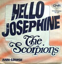 "7"" 60s RI 1975 VG++ ! THE SCORPIONS : Hello Josephine + Ann-Louise"