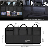 Car Trunk Cargo Food Storage Organizer Oxford Cloth Bag Hanging Back Seat Pocket