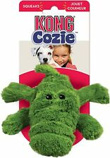 Kong Cozie ALI ALLIGATOR Plush Dog Toy with Squeaker Small ZY3
