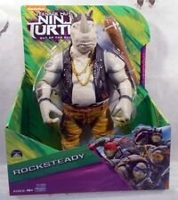 "Teenage Mutant Ninja Turtles Out Of The Shadows 11"" Rocksteady Playmates (MIP)"