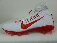 Nike Alpha Huarache 7 Elite Lacrosse Cleats Size 8-11 Men's White Red CJ0224-102