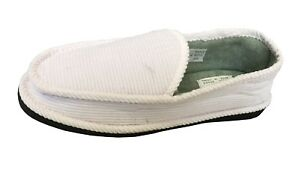New Men's Corduroy House Shoe Moccasin Slip-on Men Shoes Size 4-14 || 2022