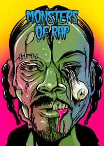 Monsters of Rap SNOOP DOGG - Digital NFT Blockchain Card - Mint #882 RARE!!