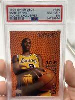 1996-97 Upper Deck Rookie Exclusives Sample #R10 Kobe Bryant RC HOF PSA 8.5