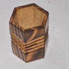 Best Wooden Pen Holder Handicraft Decorative Table Top Office Gift Item