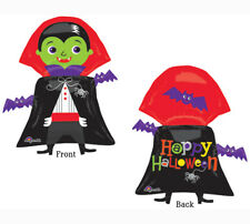 Vampire Dracula Happy Halloween Cute Spiders Bats Party Decoration Balloon