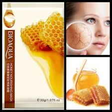 Pure Honey Extract Collegen peeling Anti Ageing Skin Glowing Silk Face Mask