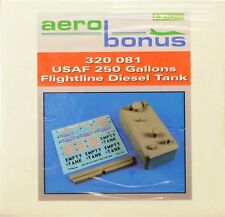 Aerobonus 320081 1/32 Resin USAF 250 gallons flightline diesel tank SALE