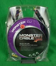 Monster DJ Prolink Cable RCA to RCA Angled 12'