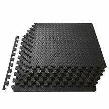 ProsourceFit ps-2301-pzzl-black Puzzle Exercise Mat - Black
