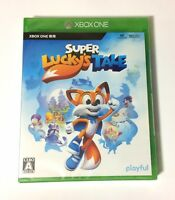 NEW Xbox One Super Lucky's Tale JAPAN Microsoft XOne import Japanese game