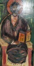 Religious oil painting Jesus Christ portrait icon