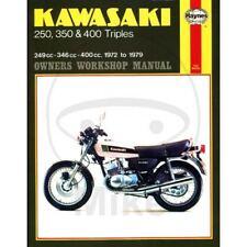 MANUALE RIPARAZIONE KAWASAKI DEUTSCHE-DE KAWASAKI 400 S3 Mach2 1974-1975