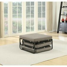 Convenience Concepts Designs4Comfort Folding Bed Ottoman, Taupe - 143709