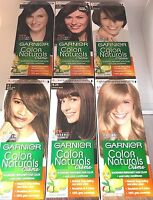 GARNIER PERMANENT HAIR COLOUR : COLOR NATURALS CREME CHOOSE ***BRAND NEW***