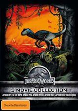 The Jurassic Park / Jurassic Park - Lost World / Jurassic Park III / Jurassic World / Jurassic World - Fallen Kingdom (DVD, 2018, 5-Disc Set)