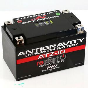 ANTIGRAVITY BATTERIES Lithium Battery 12V/330CCA/10Ah BMS/RE-START AG-ATZ10-RS