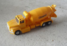Modern HO Scale Plastic Yellow Cement Mixer Truck LOOK