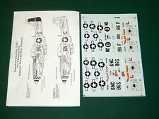 Superscale Decals 72667 1/72 - P-51D Mustang Aces