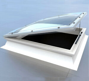 Opening Roof light, Dome Skylight Window for Flat Roofs, Mardome Trade Rooflight