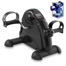 Under Desk Stationary Exercise Bike  - Portable Arm Leg Foot Pedal Exerciser