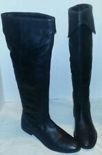 NEW ECOTE ROBYN KNEE HIGH LEATHER RIDING BOOTS WOMAN'S SIZE 9