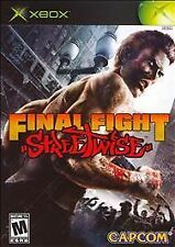 Final Fight: Streetwise (Microsoft Xbox, 2006) COMPLETE, GREAT SHAPE