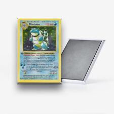 Blastoise Pokemon Card Refrigerator Magnet 2x3