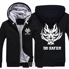 Winter Coat God Eater Thicken Jacket Anime Hoodie Cosplay Sweater JP Unisex