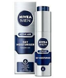 NIVEA MEN ACTIVE AGE Day Moisturiser 50ml - great gift