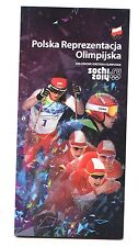 Olympic Games Sochi 2014 - Media Guide TEAM POLAND / Polska PKOL book