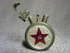 Vintage brass petrol lighter trench art steampunk USSR Red army handmade MODERN