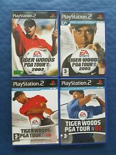 Sony PlayStation 2 PS2 Lot de 4 jeux Golf Tiger Wood, complets