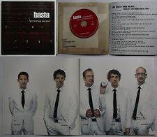 Basta Wir Sind Wie Wir Sind Rare Presskit Inc. 6page Folder + CD