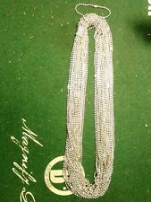 150 pack of Ball Chain's - plated 22 inch long