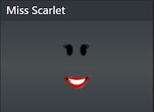 🔥 Rare Roblox Limited Miss Scarlet Clean Limited Stock 14000 Robux Value! 🔥