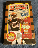2000 BOWMAN FOOTBALL CARDS HOBBY BOX / TOPPS SEALED / TOM BRADY ROOKIE ??