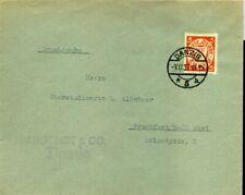 419047) Danzig EF Nr. 193 m. Brückenstempel Danzig 5 h von 1937
