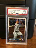 2015 Topps Sparkle Foil Jose Altuve Baseball Card #620 PSA 9 POP 2 None Higher