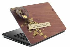 "Quotes Laptop Skin Notebook Skin Sticker Cover Art Decal Fits 14.1"" to 15.6""j7"